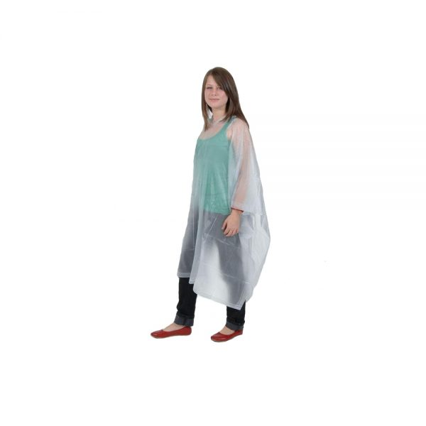 Child transparent PVC Poncho