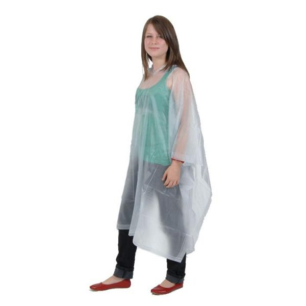 Childs-Waterproof-Rain-Poncho-EVA-Reusable-Transparent