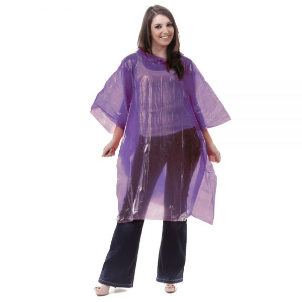 Light Purple Poncho