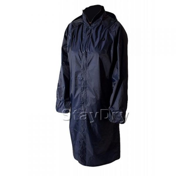 Waterproof Raincoat - PU Coated Nylon