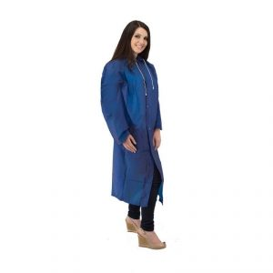 Waterproof Raincoat Pac A Mac EVA Blue