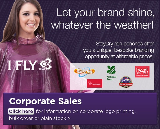 StayDry Corporate Sales Advert 1