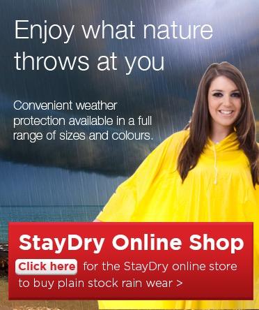 StayDry Sales Advert 2