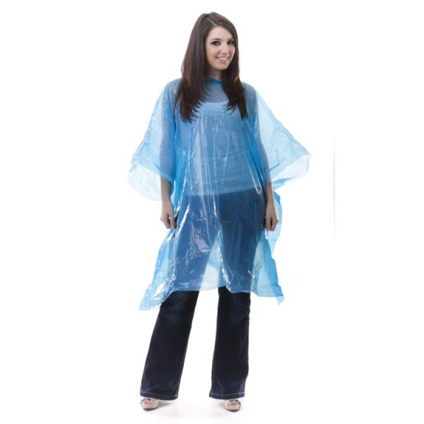rain-poncho-pe-disposable-blue