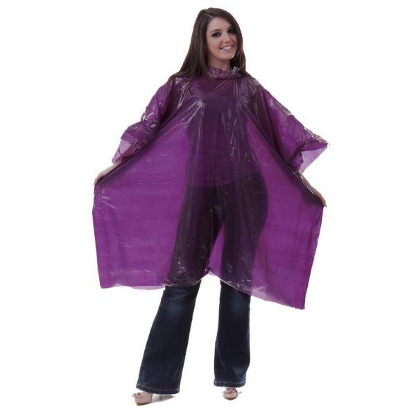 rain-poncho-pe-disposable-purple